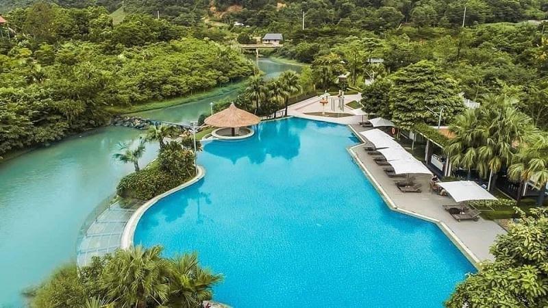 Bể bơi phong cách Resort 5 sao