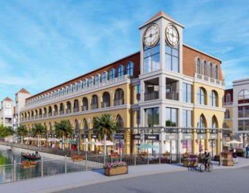 Thiết kế shophouse xa hoa, đẳng cấp tại Merry City Quy Nhơn