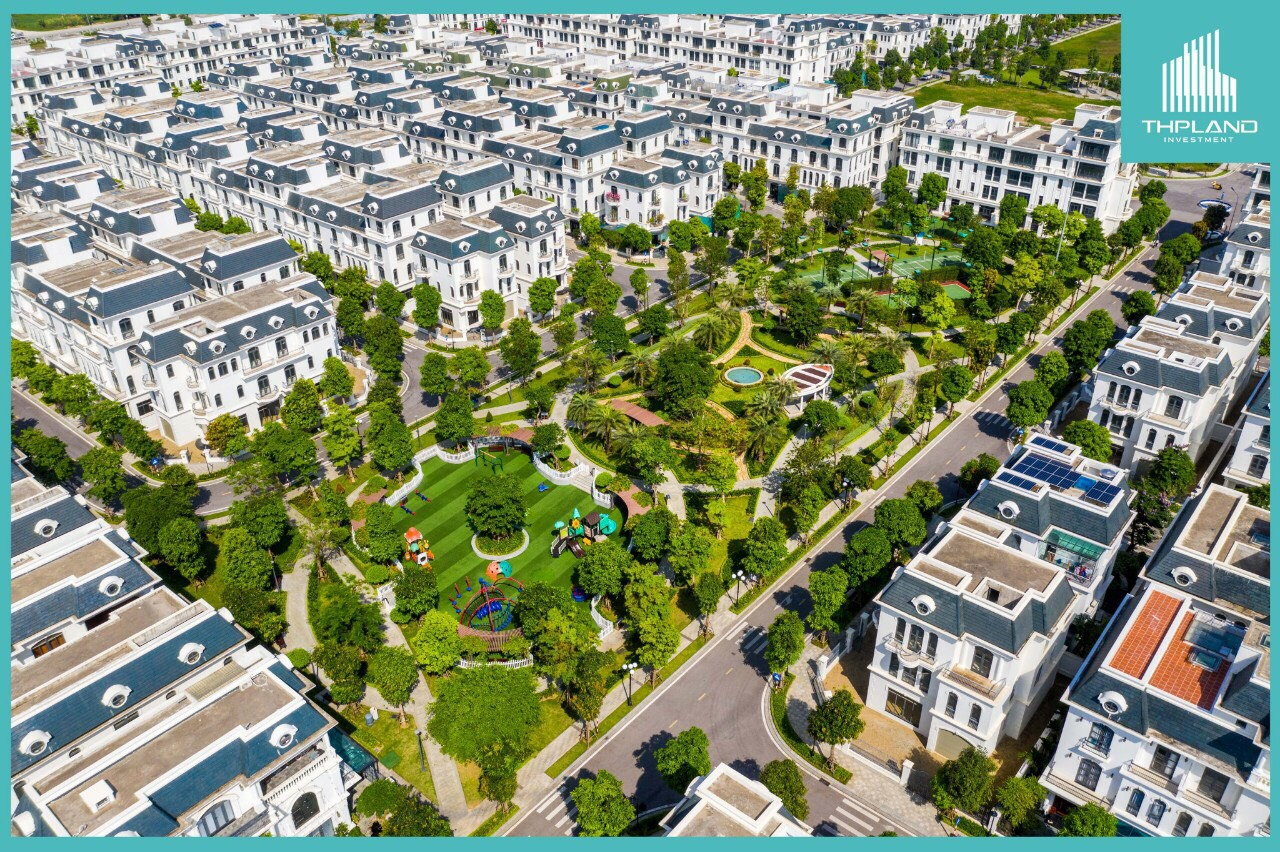 Tiện ích khu vườn Châu Âu Vinhomes Star City Thanh Hóa