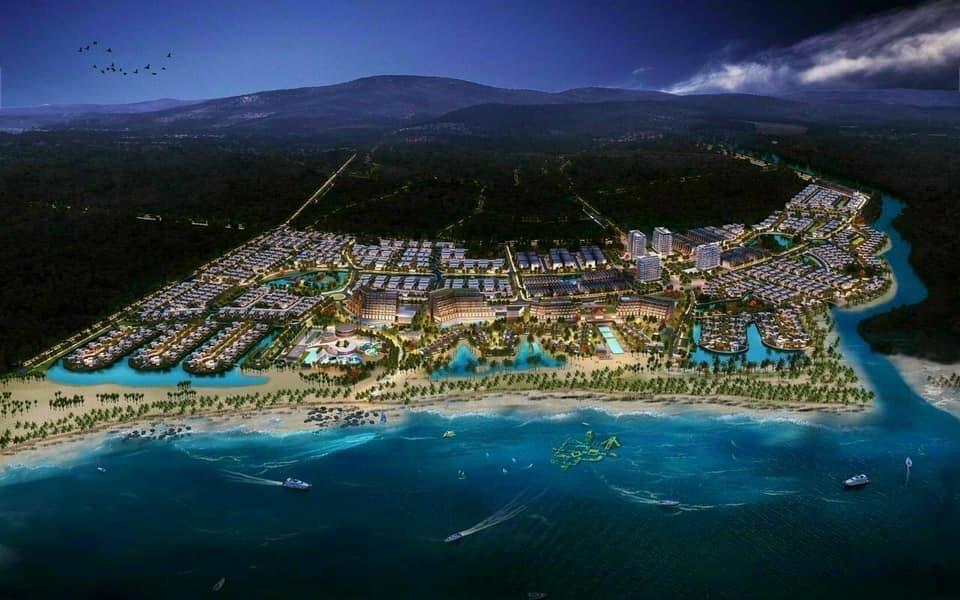 Tổng thể dự án khu du lịch Hải Giang Merry Land