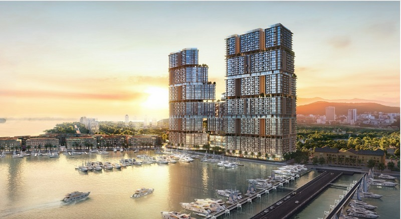 Ảnh 2: Dự án có tầm nhìn đắt giá ra vịnh du thuyền